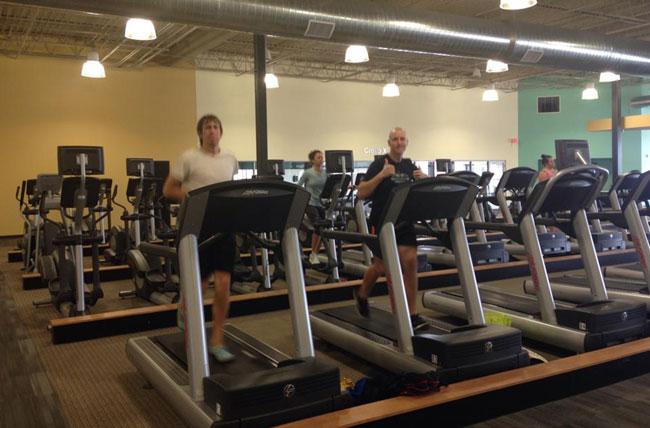 treadmill marathon