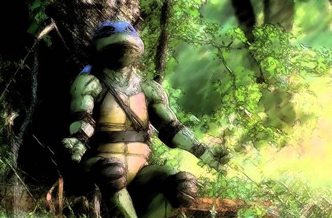 Leonardo Meditating